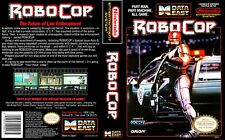 - Robocop NES Replacement Game Case Box + Cover Art Work Only
