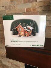 "Dept. 56 *New* Alpine Village ""Heidi'S Grandfather'S House"" #56-56177"