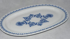 Friesland Melitta Jeverland friesisch blau die Platte oval 32,5 cm x 23 cm