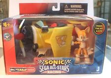 Tails Sonic The Hedgehog Action Figure Toy Sega All-Stars Racing Vehicle Plane