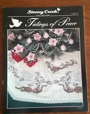 Tidings of Peace Christmas in Cross Stitch by Stoney Creek Collection