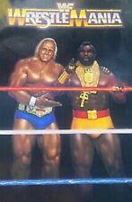 Vintage Wwf Wwe New Original 1st Ever 1985 WrestleMania Poster Holy Grail Hasbro