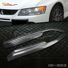 Carbon Fiber Eyelid Eyebrow Headlight Cover for Mitsubishi Lancer EVO 7 9 03-07