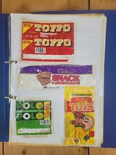 More details for vintage chocolate and sweet wrappers 80s/90s job lot