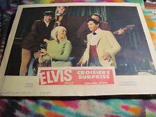 ELVIS PRESLEY - DOUBLE TROUBLE ( CROISIERE SURPRISE)  LOBBY CARD ----  K @ @ L
