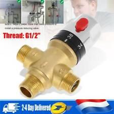 Robinet de douche thermostatique à vanne mélangeuse à 3 voies en laiton FR