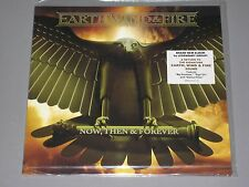 EARTH WIND & FIRE Now, Then & Forever LP NEW SEALED