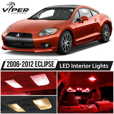 Red LED Interior Lights Package Kit for 2006-2012 Mitsubishi Eclipse