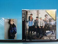 BTS CD+Photo card RUN Japanese Japan ver. RAP MONSTER