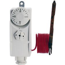 Tauchthermostat mit fernfühler Kapillar Thermostat Gehäusethermostat  0 - 90°C