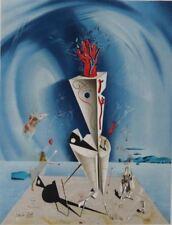 "SALVADOR DALI - Lithograph - ""Apparatus and Hand"" - 1974"