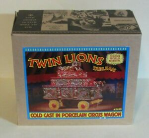 Ertl / Circus World Museum TWIN LIONS CIRCUS PARADE WAGON good for Train Layout