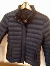 Bogner Fire & Ice Livia Lightweight Packable Down Jacket NWT X-Small $450 Navy