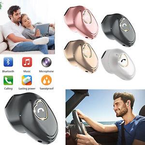 Cute Mini Bluetooth Earpiece Wireless Headphones for iPhone Motorola ASUS Phones