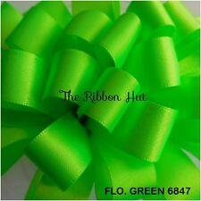 Berisfords Wide Double Satin Ribbon 31 Colours Widths 35/ 50/70- 1Mtr & 2Mtr