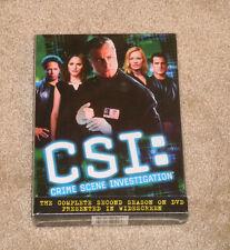 CSI: Crime Scene Investigation - The Complete Second Season DVD NEW SEALED