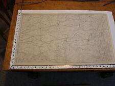 "1891 Civil War Map 18"" X 29"": Topographical Plate CXL: PITTSBURG, COLUMBUS,"