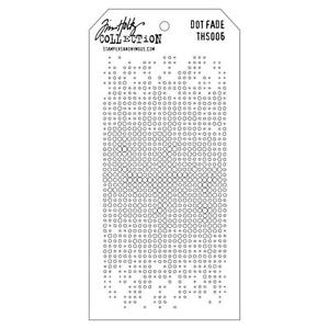 Tim Holtz Layering Stencil ~ DOT FADE ~ THS006 ~ Stampers Anonymous