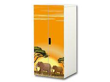 Tierwelt Möbelsticker / Aufkleber passend für Schrank STUVA von IKEA - SC25