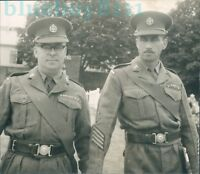 Royal Warwickshire Regiment Senior NCO's 1950's