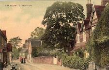 The Street Limpsfield Nr Oxted unused old pc S & W Series