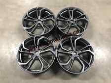 """18"""" VW Golf R GTi Reifnitz TCR Style Alloy Wheels Satin Gun Metal MK5 MK6 MK7"""