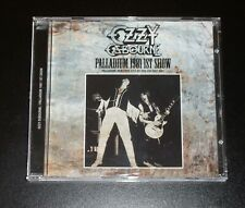 OZZY OSBOURNE PALLADIUM 1981 1stSHOW CD ZODIAC BLACK SABBATH