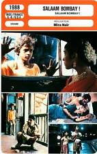 FICHE CINEMA : SALAAM BOMBAY - Syed,Vithal,Mira Nair 1988