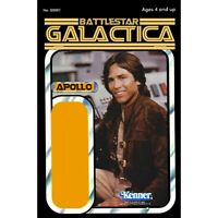 Custom  Battlestar Galatica Greenbean Action Figure Card