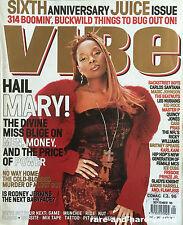 VIBE Magazine September 99 MARY J. BLIGE Rare Vintage URBAN Music & Lifestyle