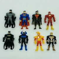 Justice League Action Mighty Minis DC Series 1 Complete Loose Set of 8 Mattel