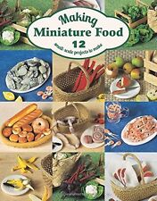 Making Miniature Food Angie Scarr Paperback New Book Free UK Delivery