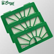 3 Hepa Filter Allergie Abluftfilter passend für Vorwerk Kobold VR100 Saugroboter