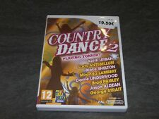 JEU WII COUNTRY DANCE 2 PLAYING TONIGHT NINTENDO OCCASION