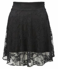Lace Casual Floral Plus Size Skirts for Women