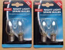 7w Pygmy SES E14 Night Light Bulb Lamp 240v  2 x 2pk = 4 Bulbs