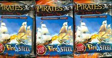 WIZKID 3  BOOSTERS PIRATES AT CURSED SEAS FIRE & STEEL