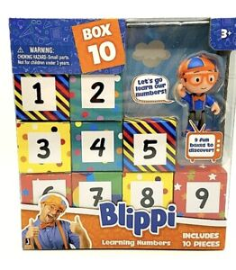 Blippi BLP0010 Surprise Boxes-Learning Numbers