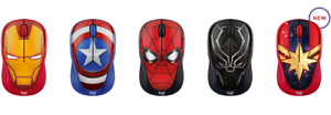 Logitech Wireless Mouse M238 Marvel Avengers Collection You Choose New Sealed