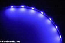 2x 60cm Ultra Bright Blue LED Strip 5050 Waterproof IP65 Car Boat Caravan