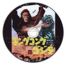 King Kong vs Godzilla (Kingu Kongu tai Gojira) (1962) Japanese Monster Movie DVD