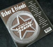 KARAOKE CDG DISC legende VOL 195, Usher & Amici, vedere descript 17 tracks.genuine