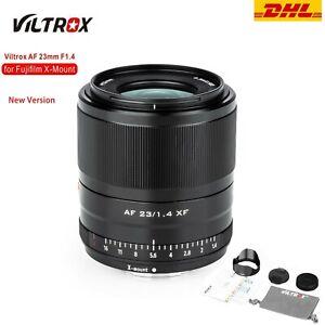 Viltrox 23mm F1.4 XF V2 Auto Focus STM Lens for Fuji X-Mount X-T1/2/3/10/20/30