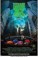 Teenage Mutant Ninja Turtles 1990 35mm Film Cell strip very Rare var_b