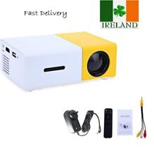 Mini Portable LED Projector 1080P HD Home Cinema Theater System PC Laptop iPhone