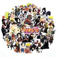 63Pcs Ninja Anime Vinyl Stickers Bomb for Laptop/Luggage/Guitar-Waterproof