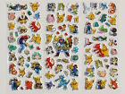 3pcs 2016Newest Pokemon GO Stickers Puffy Pikachu Pocket Monster Scrapbooking