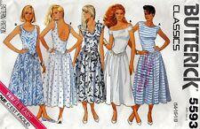 Butterick 5593 DRESS Sewing Pattern Size 14-16-18 Uncut