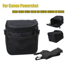 New Camera Case Bag With Strap for Canon Powershot SX20 SX30 SX50 SX40 HS SX510