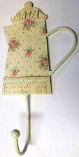 """HOFF INTERIEUR 7013 crochet beige """" Roseraie """" Maison de campagne cuisine métal"""